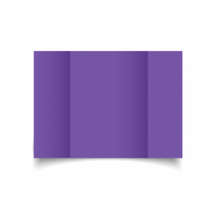 Dark Violet Card Blanks Double Sided 240gsm-A5-Gatefold