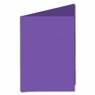 Dark Violet Card Blanks Double Sided 240gsm-A5-Portrait
