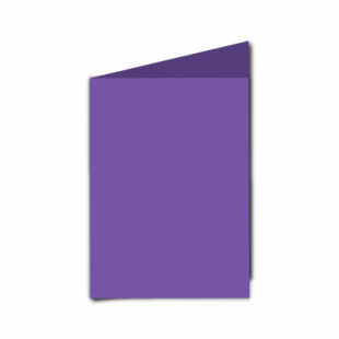 Dark Violet Card Blanks Double Sided 240gsm-A6-Portrait