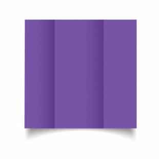 Dark Violet Card Blanks Double Sided 240gsm-DL-Gatefold