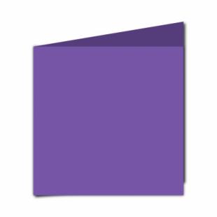 Dark Violet Card Blanks Double Sided 240gsm-Large Square-Portrait