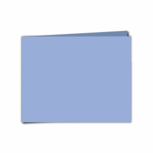 """Marine Blue Card Blanks Double Sided 240gsm-5""""x7""""- Landscape"""