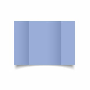Marine Blue Card Blanks Double Sided 240gsm-A5-Gatefold