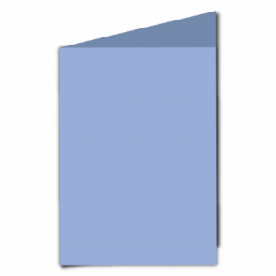 Marine Blue Card Blanks Double Sided 240gsm-A5-Portrait