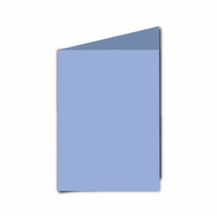 Marine Blue Card Blanks Double Sided 240gsm-A6-Portrait