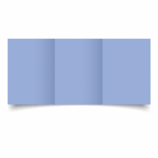 Marine Blue Card Blanks Double Sided 240gsm-A6-Trifold