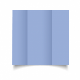 Marine Blue Card Blanks Double Sided 240gsm-DL-Gatefold