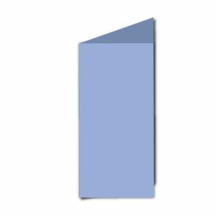 Marine Blue Card Blanks Double Sided 240gsm-DL-Portrait