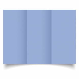 Marine Blue Card Blanks Double Sided 240gsm-DL-Trifold