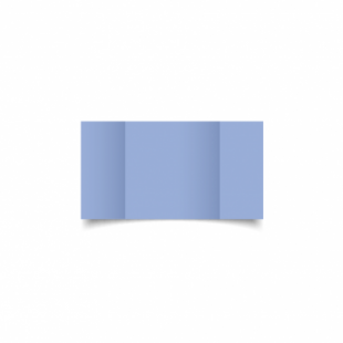 Marine Blue Card Blanks Double Sided 240gsm-Small Square-Gatefold