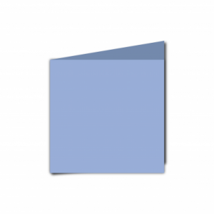 Marine Blue Card Blanks Double Sided 240gsm-Small Square-Portrait