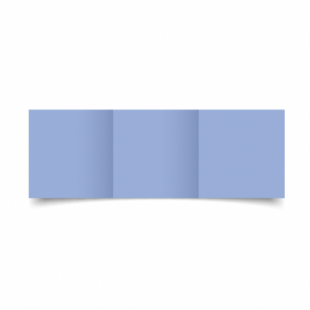 Marine Blue Card Blanks Double Sided 240gsm-Small Square-Trifold