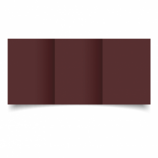 Maroon Card Blanks Double Sided 240gsm-A6-Trifold