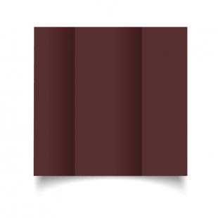Maroon Card Blanks Double Sided 240gsm-DL-Gatefold