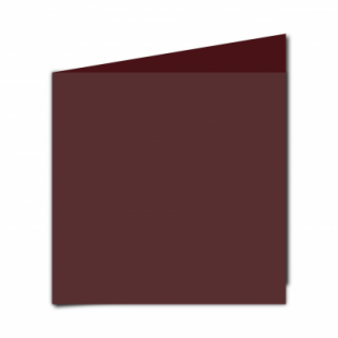 Maroon Card Blanks Double Sided 240gsm-Large Square-Portrait