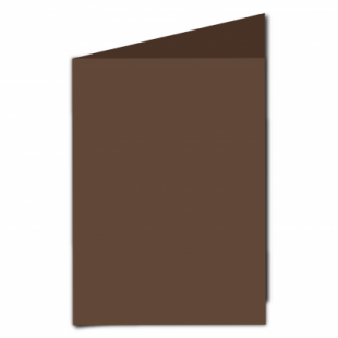 Mocha Brown Card Blanks Double Sided 240gsm-A5-Portrait