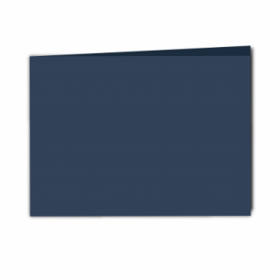 Navy Card Blanks Double Sided 240gsm-A5-Landscape