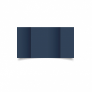 Navy Card Blanks Double Sided 240gsm-Large Square-Gatefold
