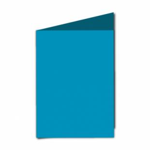 "Ocean Blue Card Blanks Double Sided 240gsm-5""x7""-Portrait"