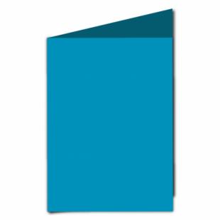 Ocean Blue Card Blanks Double Sided 240gsm-A5-Portrait