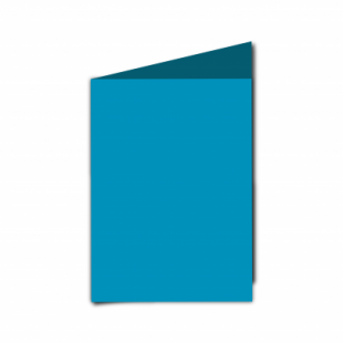 Ocean Blue Card Blanks Double Sided 240gsm-A6-Portrait