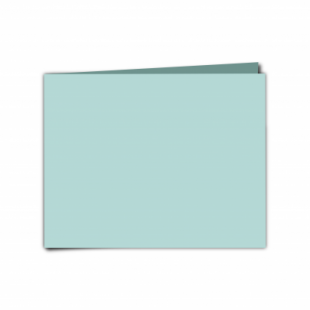"Pale Turquoise Card Blanks Double Sided 240gsm-5""x7""-Landscape"