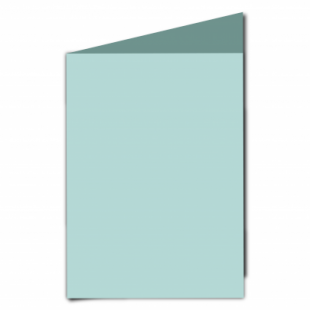 Pale Turquoise Card Blanks Double Sided 240gsm-A5-Portrait