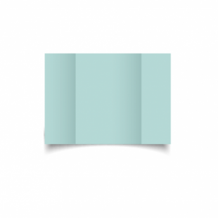 Pale Turquoise Card Blanks Double Sided 240gsm-A6-Gatefold