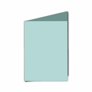 Pale Turquoise Card Blanks Double Sided 240gsm-A6-Portrait