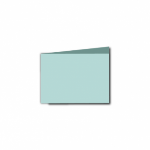 Pale Turquoise Card Blanks Double Sided 240gsm-A7-Landscape