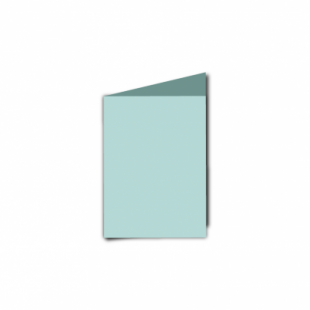 Pale Turquoise Card Blanks Double Sided 240gsm-A7-Portrait