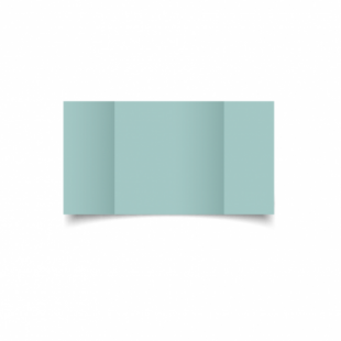 Pale Turquoise Card Blanks Double Sided 240gsm-Large Square-Gatefold