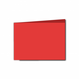 Red Card Blanks Double sided 290gsm-A6-Landscape