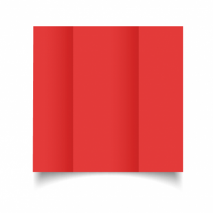 Post Box Red Card Blanks Double Sided 240gsm-DL-Gatefold