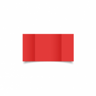 Red Card Blanks Double sided 290gsm-Small Square-Gatefold