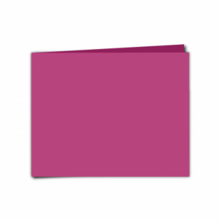 """Raspberry Pink Card Blanks Double Sided 240gsm-5""""x7""""-Landscape"""