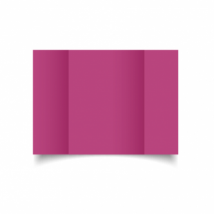 Raspberry Pink Card Blanks Double Sided 240gsm-A5-Gatefold