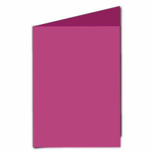 Raspberry Pink Card Blanks Double Sided 240gsm-A5-Portrait
