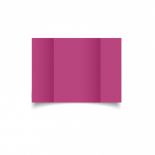 Raspberry Pink Card Blanks Double Sided 240gsm-A6-Gatefold