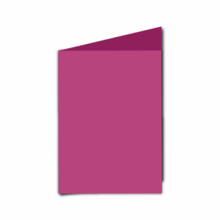 Raspberry Pink Card Blanks Double Sided 240gsm-A6-Portrait