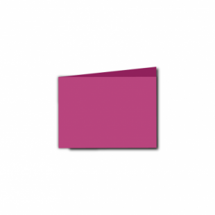 Raspberry Pink Card Blanks Double Sided 240gsm-A7-Landscape