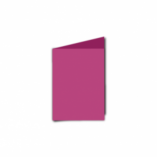 Raspberry Pink Card Blanks Double Sided 240gsm-A7-Portrait