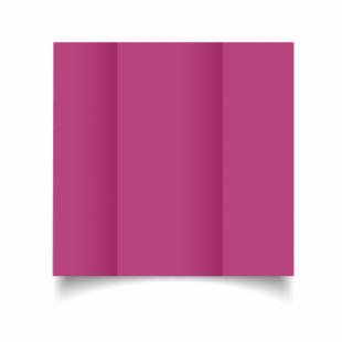 Raspberry Pink Card Blanks Double Sided 240gsm-DL-Gatefold