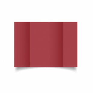 Ruby Red Card Blanks 240gsm-A5-Gatefold