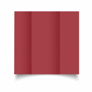 Ruby Red Card Blanks 240gsm-DL-Gatefold