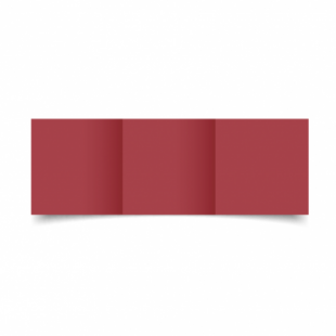 Ruby Red Card Blanks 240gsm-Small Square-Trifold