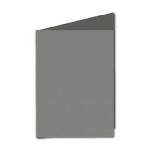 "Slate Grey Card Blanks Double Sided 240gsm-5""x7""-Portrait"