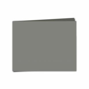 "Slate Grey Card Blanks Double Sided 240gsm-5""x7""-Landscape"
