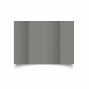 Slate Grey Card Blanks Double Sided 240gsm-A5-Gatefold