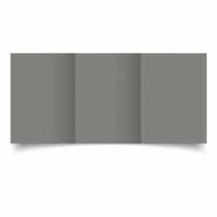 Slate Grey Card Blanks Double Sided 240gsm-A6-Trifold